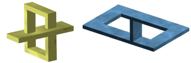 Curiosidades visuales - Figuras geometricas imposibles ...
